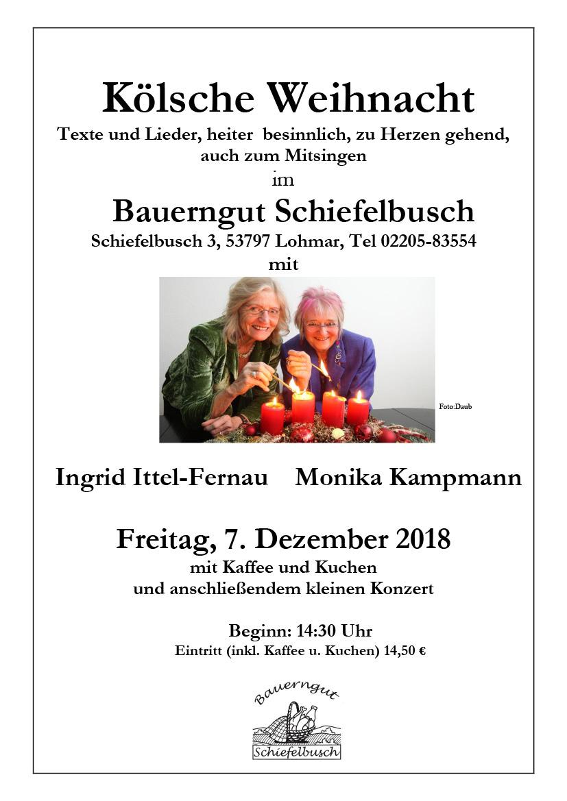 Koelsche Weihnacht 2018